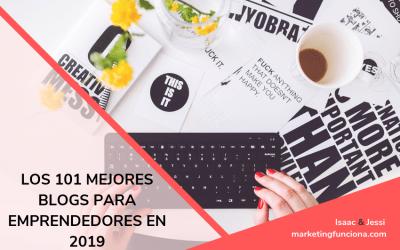 Los 101 mejores blogs para emprendedores en 2019